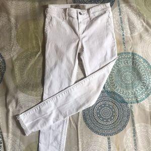 White Hollister skinny jeans - 0s